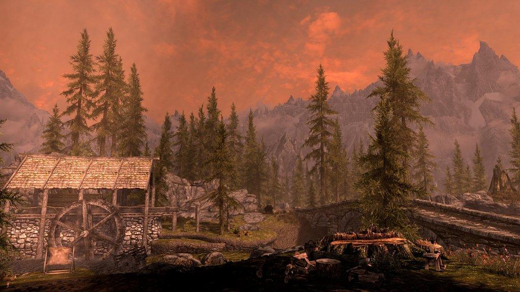 Danger awaits at Half-Moon Mill